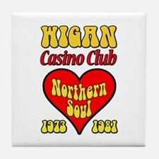Wigan Casino Club Northern Soul 1973-1981 Tile Coa