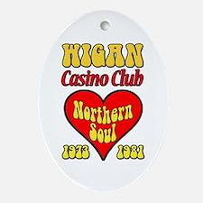 Wigan Casino Club Northern Soul 1973-1981 Ornament