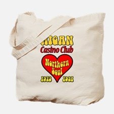 Wigan Casino Club Northern Soul 1973-1981 Tote Bag