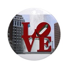 Love Park Ornament (Round)