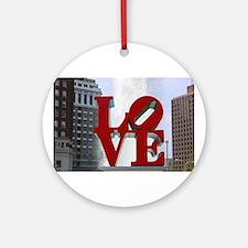 Love Park Ornament (Round)