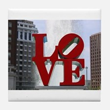Love Park Tile Coaster