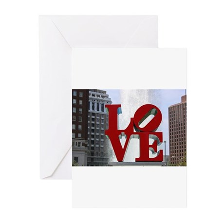 Love Park Greeting Cards (Pk of 10)