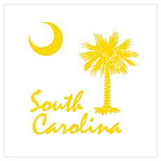 South Carolina Palmetto Poster