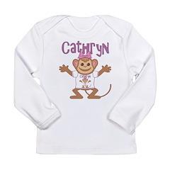 Little Monkey Cathryn Long Sleeve Infant T-Shirt