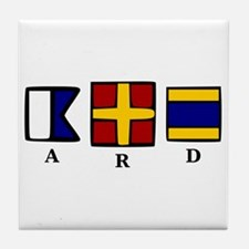 aRd Tile Coaster