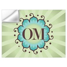 Lotus OM Green Wall Decal