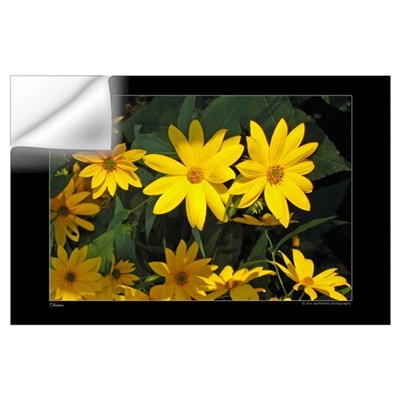 Yellow Daisies Wall Decal