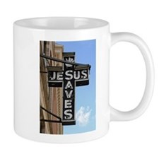 Jesus Saves Mug