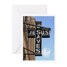 Jesus Saves Greeting Cards (Pk of 20)