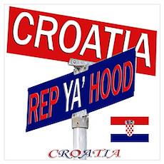 REP CROATIA Poster
