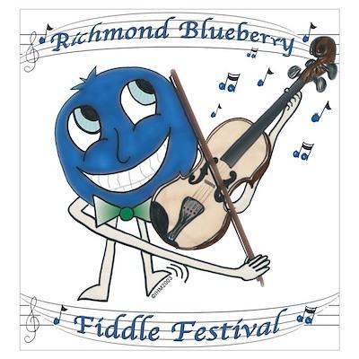 RBFF Blueberry Man Print Poster