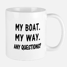 MY BOAT. MY RULES. Mug