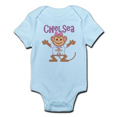 Little Monkey Chelsea Infant Bodysuit