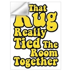 That Rug Really Tied The Room Together Big Lebowsk Wall Decal