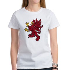 Red Gryphon Women's T-Shirt