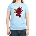 Red Gryphon Women's Pink T-Shirt