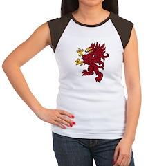 Red Gryphon Women's Cap Sleeve T-Shirt