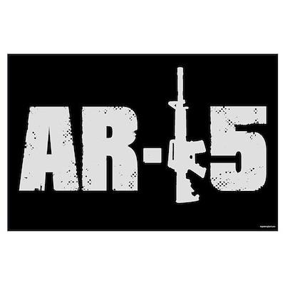 AR-15 Poster
