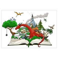 Reading is Fantastic! Canvas Art