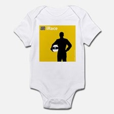 iRace Yellow Race Driver Infant Creeper