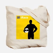 iRace Yellow Race Driver Tote Bag