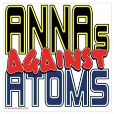 ANNAs Against Atoms [SWAG] Poster