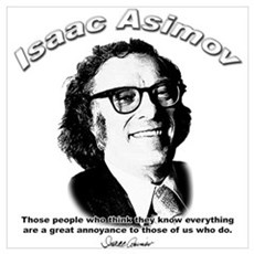 Isaac Asimov 03 Poster
