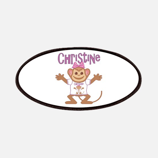 Little Monkey Christine Patches