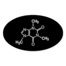 Caffeine Molecule, Bumper Stickers