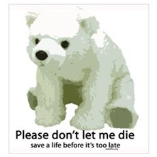 Please Dont Let Me Die Polar Poster