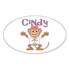 Little Monkey Cindy Decal