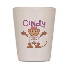 Little Monkey Cindy Shot Glass