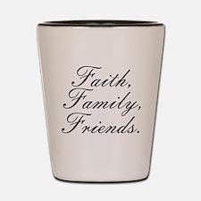 Cool Faith Shot Glass