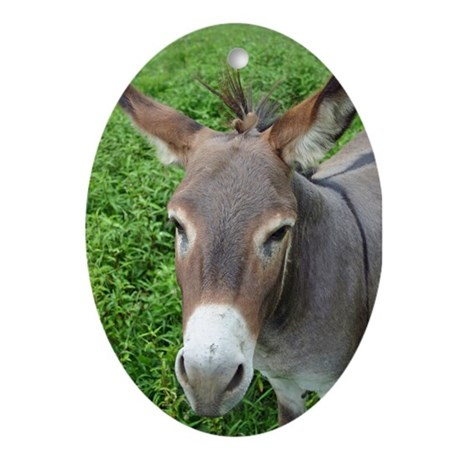 Mule Ornament (Oval)