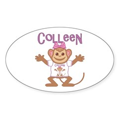 Little Monkey Colleen Decal