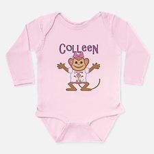 Little Monkey Colleen Long Sleeve Infant Bodysuit