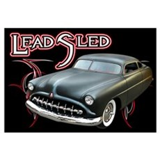 Lead Sled - Pinstripe Canvas Art