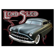 Lead Sled - Pinstripe Poster