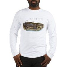 Saltwater Crocodile Long Sleeve T-Shirt