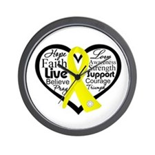 Suicide Prevention Awareness Wall Clock