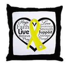 Suicide Prevention Awareness Throw Pillow