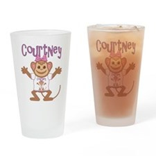 Little Monkey Courtney Drinking Glass