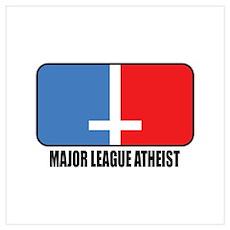 Major League Atheist Poster