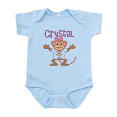 Little Monkey Crystal Infant Bodysuit