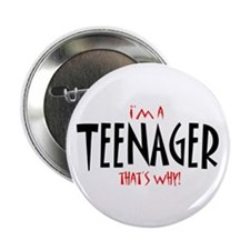 I'm a Teenager Button