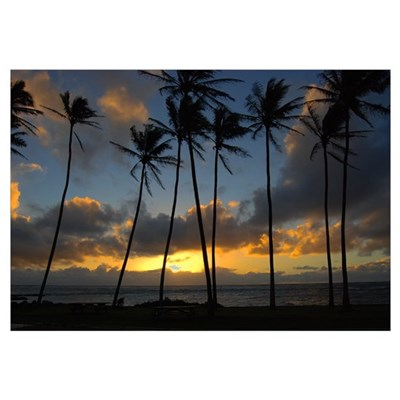Kauai Sunrise Canvas Art