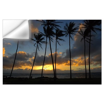Kauai Sunrise Wall Decal