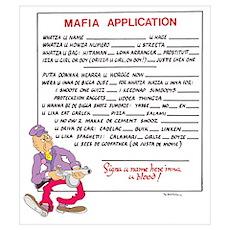 MAFIA APPLICATION Poster