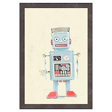Retro Toy Robot Art